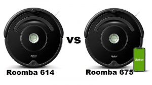 Roomba 614 vs 675. Why either might be good for you?