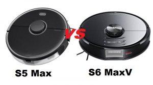 Roborock S5 Max vs S6 MaxV. We help you choose